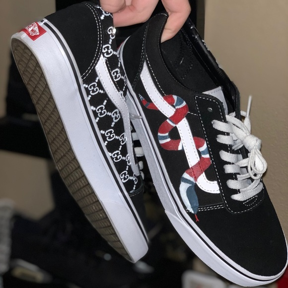 check out matching in colour great prices Gucci custom vans